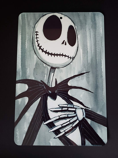 8x12 Aluminum Sign Jack Skellington