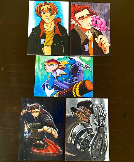 5x7  Treasure Planet Five Pack