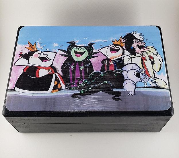 Evil Laughter Large Trinket Box