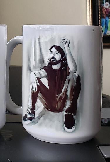 "LARGE 15oz. Mug ""Taking a Break"""