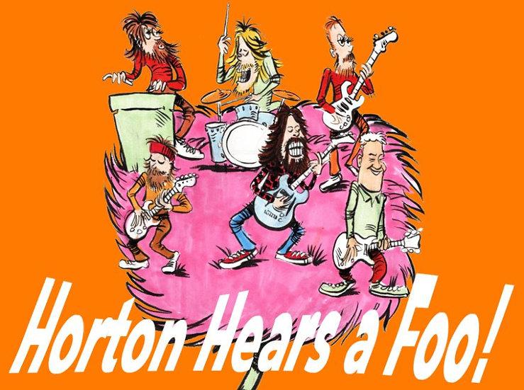 Horton Hears a Foo Print