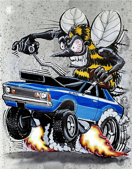 AMC Hornet Print