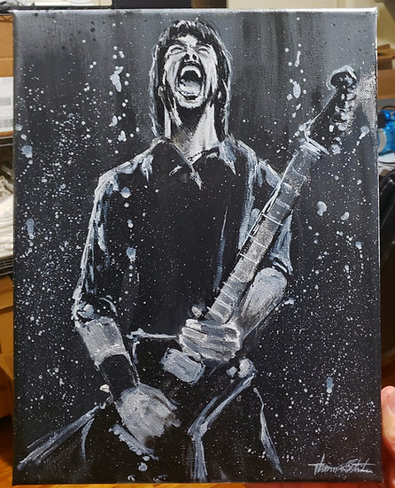 ORIGINAL Dave 11X14 Acrylic on Canvas Painting