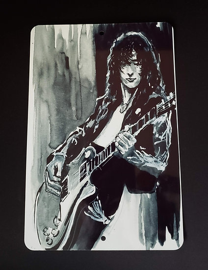 8x12 Aluminum Sign Jimmy Page