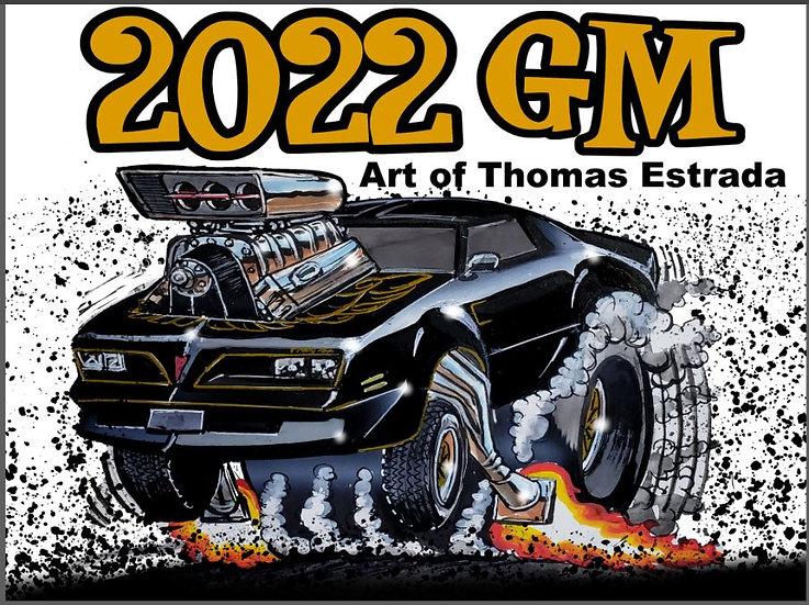 2022 GM Hand Signed Calendar