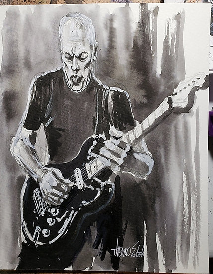 Gilmour 18x24 Poster