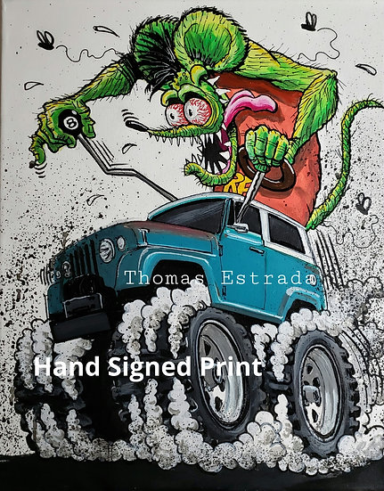 Jeepster Print