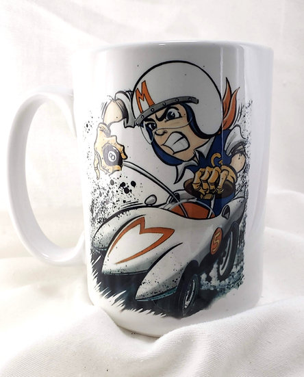 "LARGE 15oz. Mug ""Mach 5"""