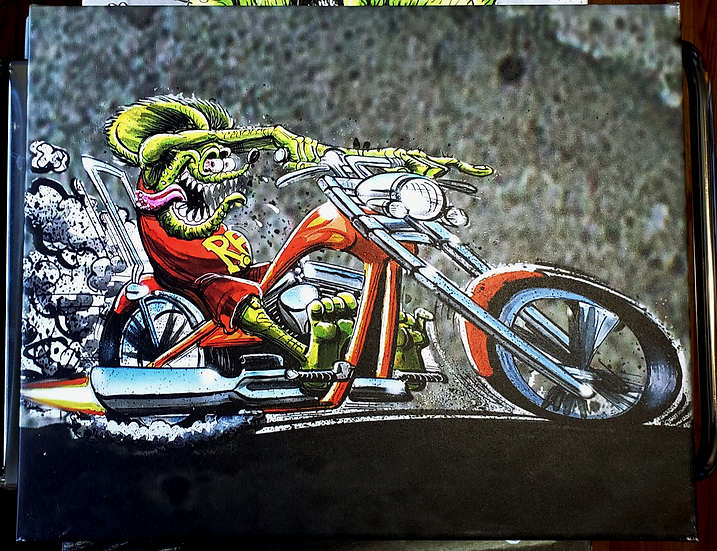 "16x20 ""Chopper Fink""  Canvas Print"