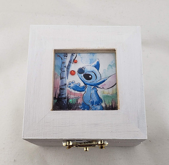 Stitch Window Trinket Box