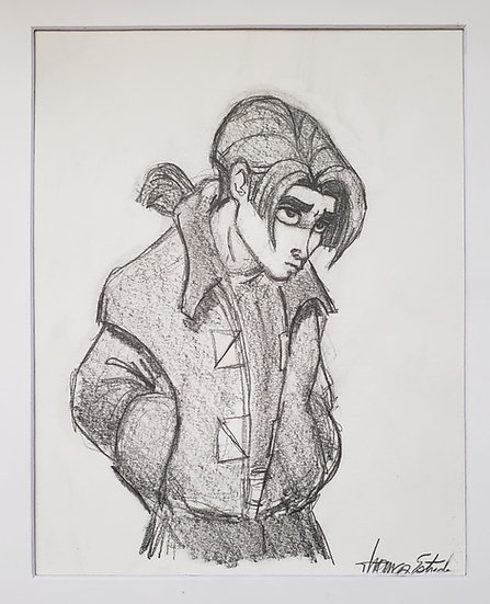 8x10 ORIGINAL Jim Hawkins