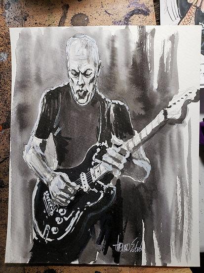 Gilmour Print