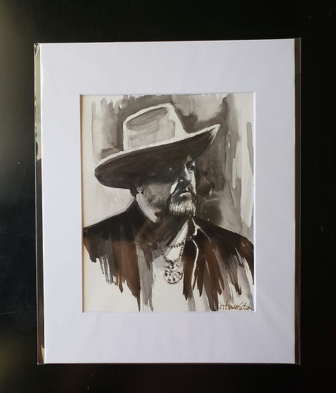 """Raul"" 8x10 ORIGINAL Painting"