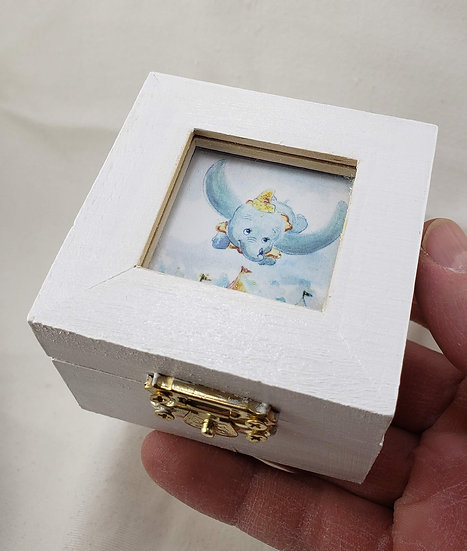 Dumbo Window Trinket Box