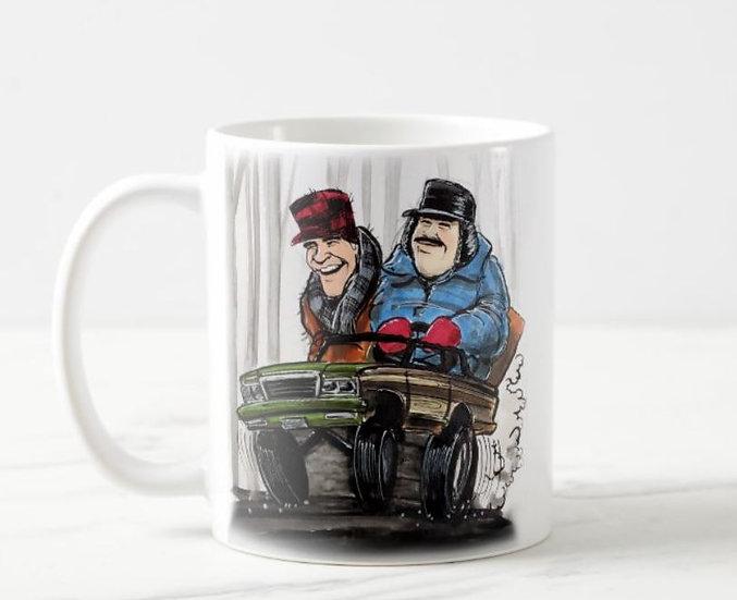 LARGE 15oz. Planes, Trains & Automobiles Mug