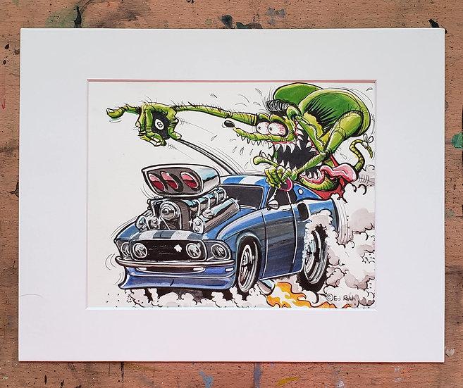 Original 8x10 Mustang Fink