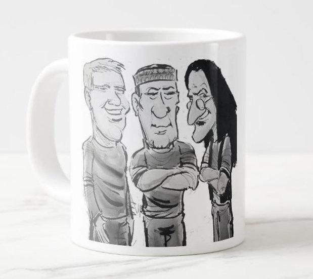LARGE 15oz. Get Your Caffeine Rush Mug