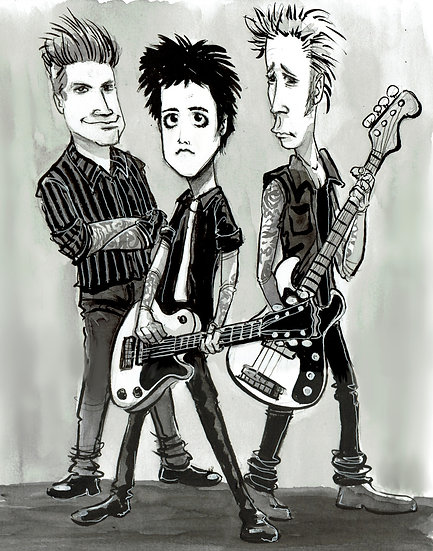 Green Day Print