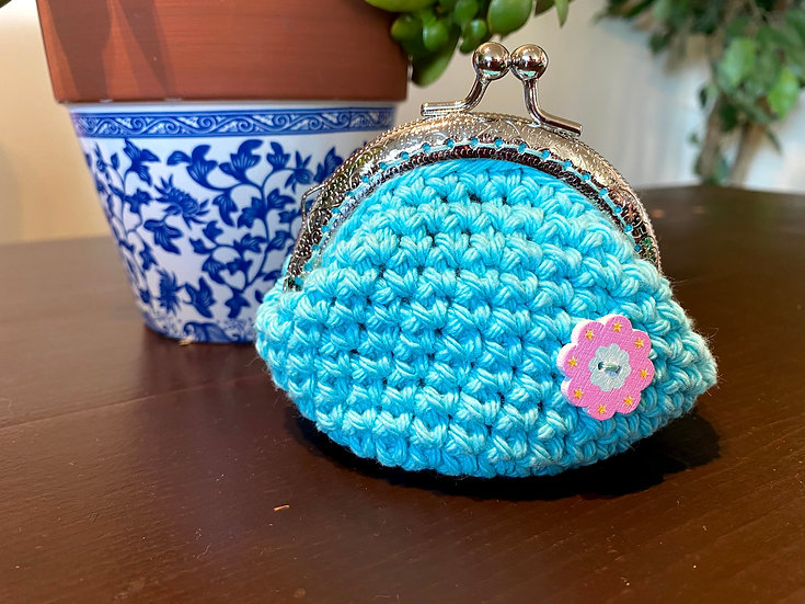 Coin Purse Sea Breeze Flower