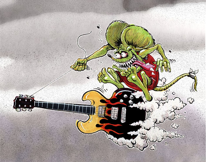 "Print ""Guitar Fink"""
