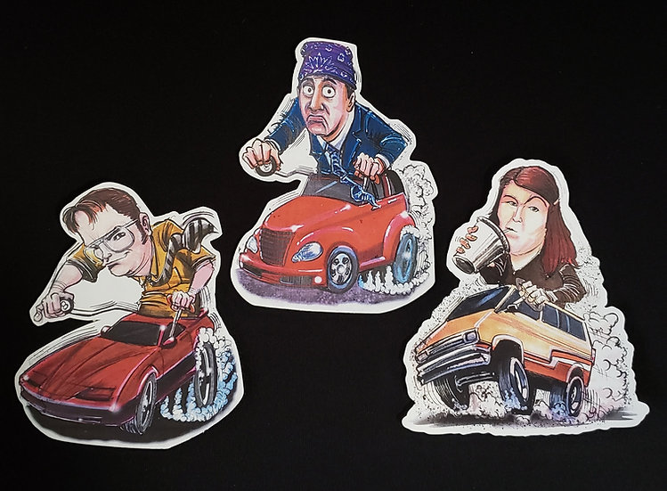 Office Three Pack Decals