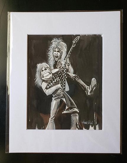 "ORIGINAL ""Randy and Oz"" 8x10 Illustration"