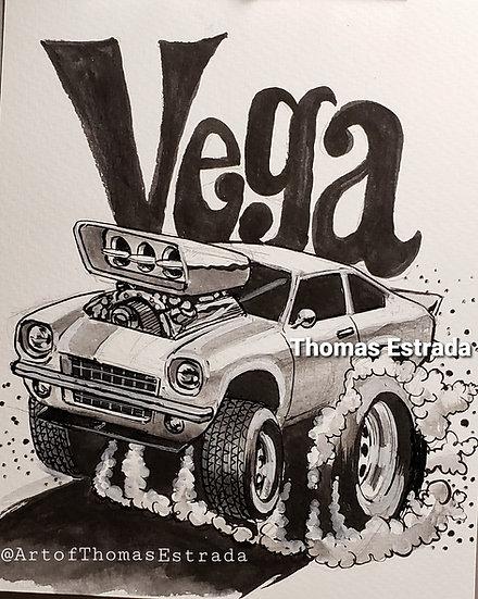 ORIGINAL Vega 8x10 Illustration.