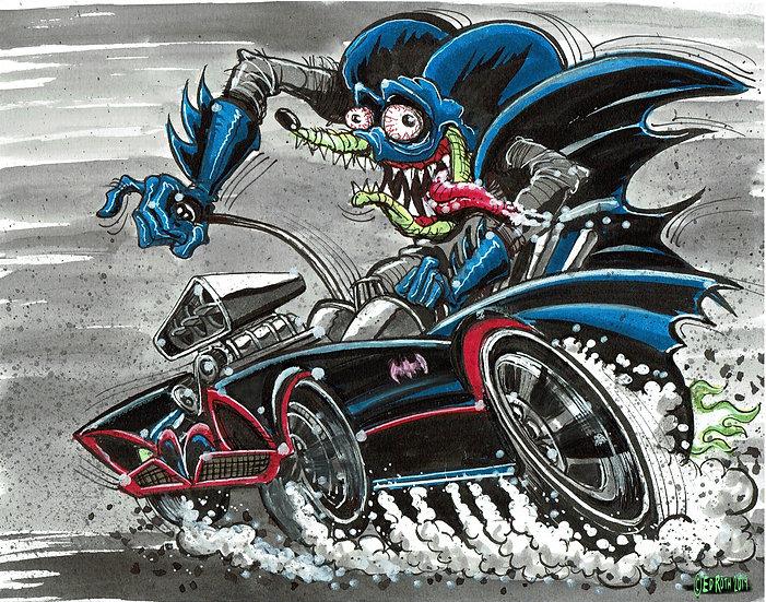Bat Fink Print