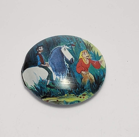 "Miguel and Tulio II 2"" Glass Refrigerator Magnet"