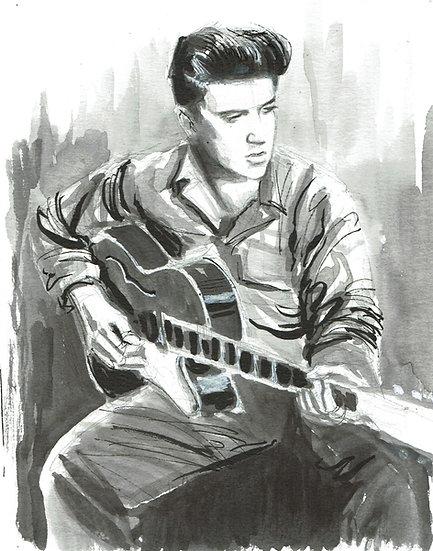 """""""Elvis"""" Print"""