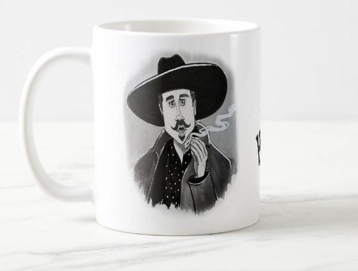 """LARGE 15oz. Mug """"Doc Holliday"""""""