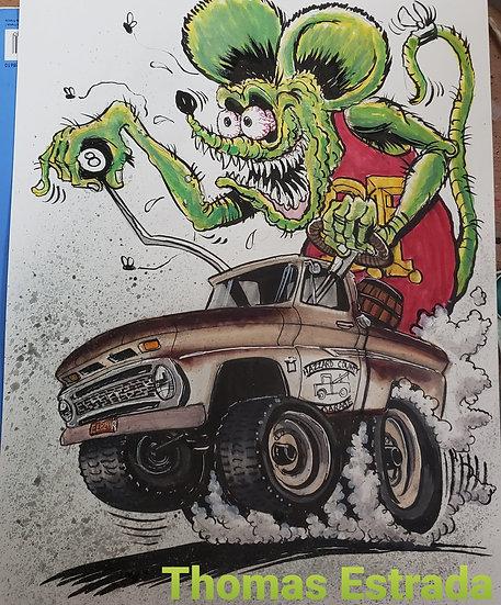 Chevy Truck Fink Print