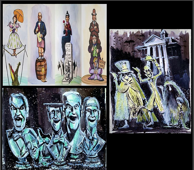 Haunted Mansion Three Pack