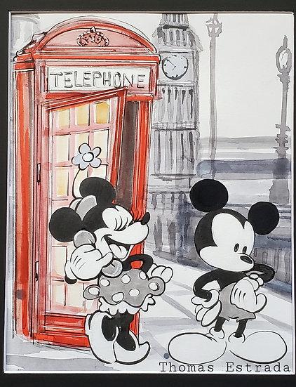 London Mickey and Minnie