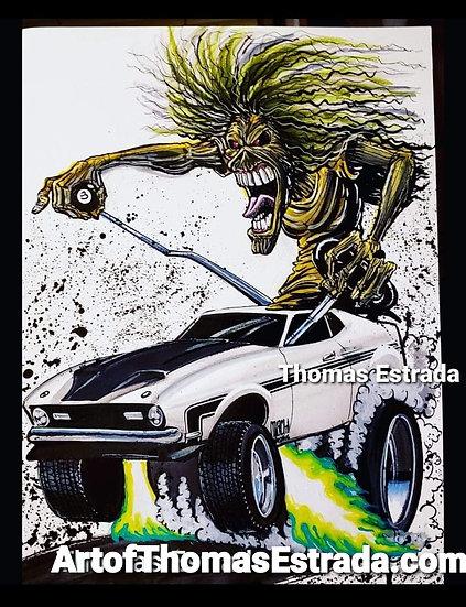Mach I Eddie Poster