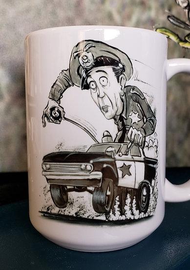 """LARGE 15oz. Mug """"Deputy Fife"""""""