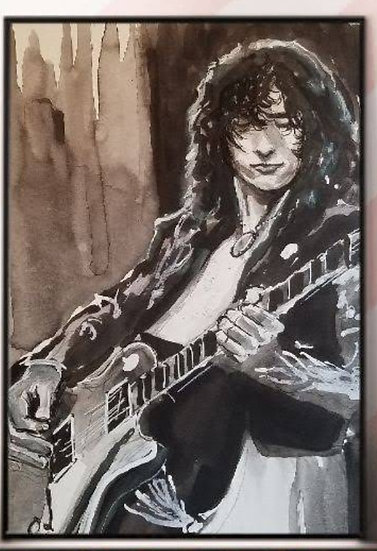 Jimmy Page Print