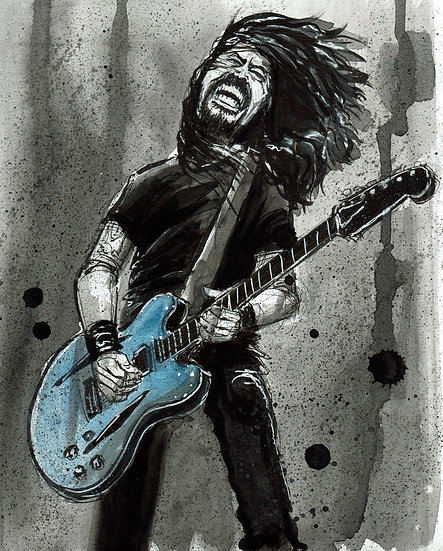 Jammin Dave Print