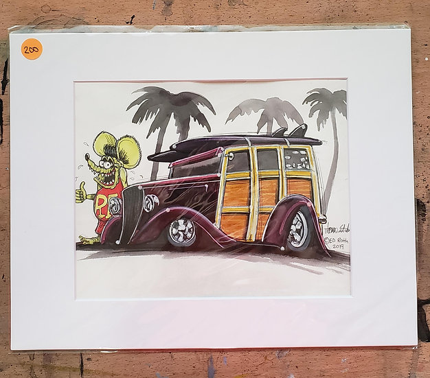 Original 8x10 Woodie Fink