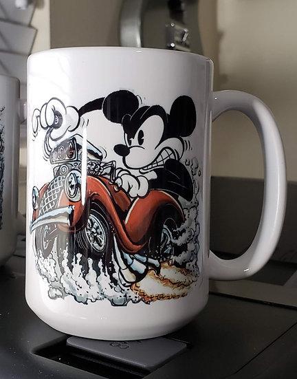"""LARGE 15oz. Mug """"Mouse Fink"""""""
