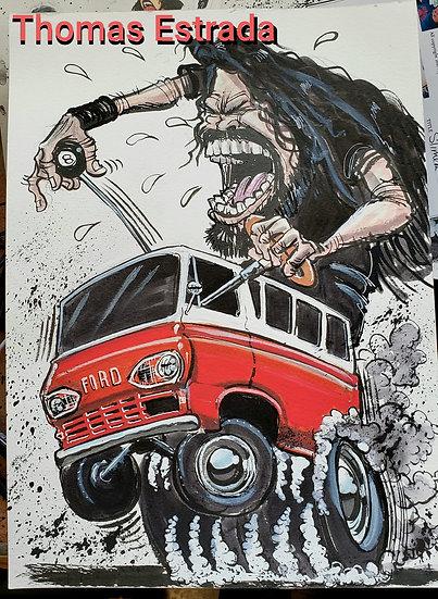 Dave's Van Print