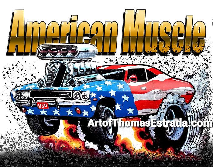 American Muscle MOPAR Print