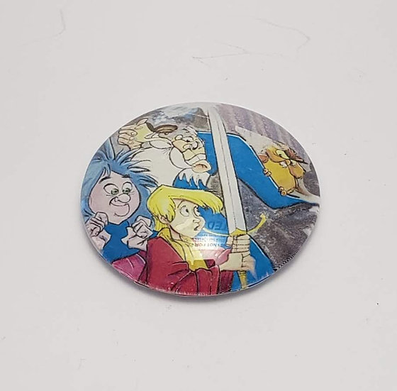 "Sword and the Stone 2"" Glass Refrigerator Magnet"
