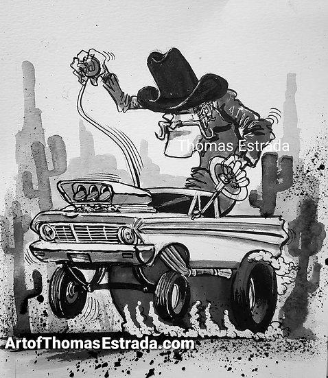 Ford Ranchero Print