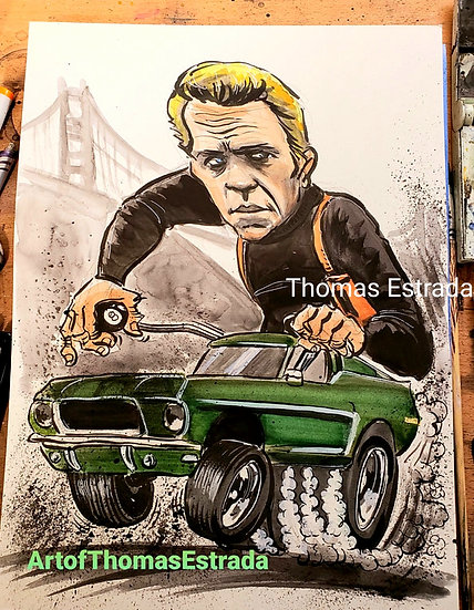LIMITED EDITION 16x20 Bullitt Canvas Print