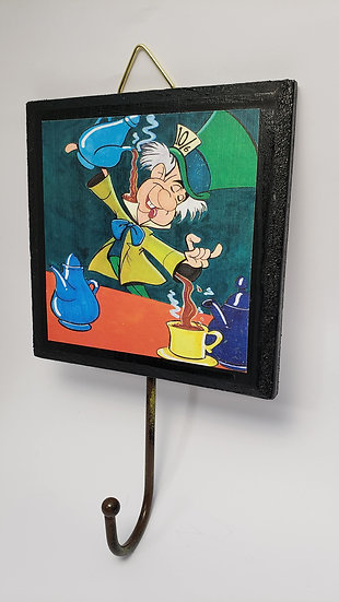 Mad Hatter Key Hook