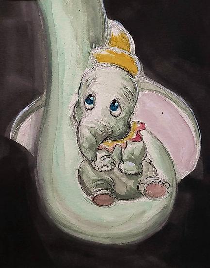 "Dumbo"" Print"