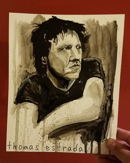 Elliott in ink