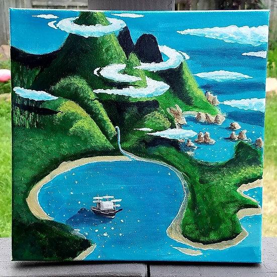 12x12 Neverland Canvas Print