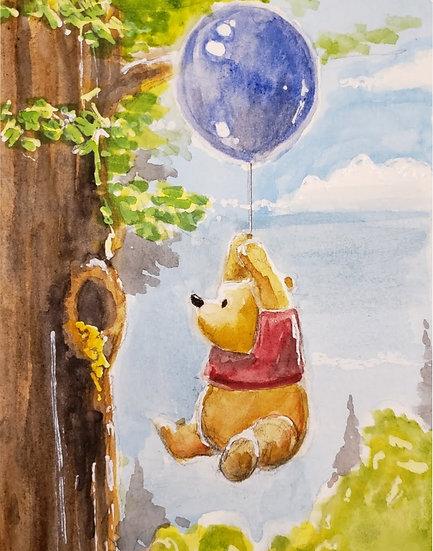 Pooh Balloon